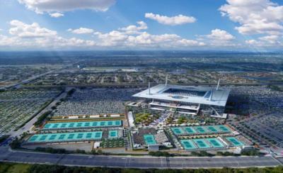MIAMI OPEN TENNIS – GRANDSTAND AT HARDROCK STADIUM